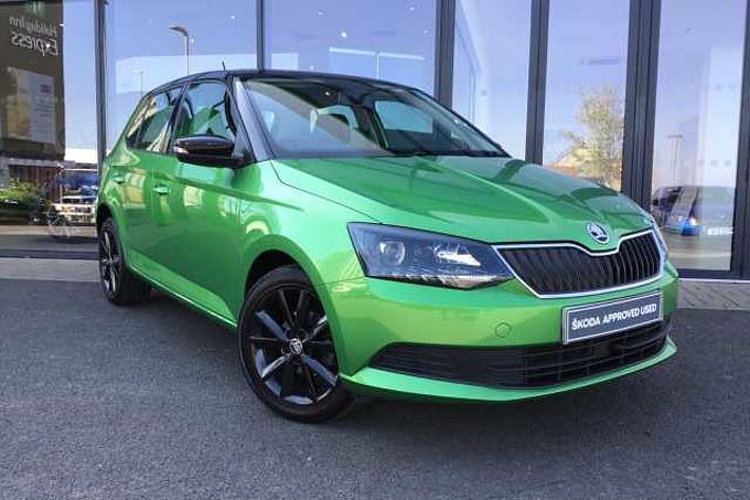 SKODA Fabia Hatchback Special Editions 1.2 TSI Colour Edition 5dr