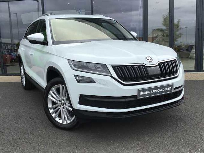 SKODA Kodiaq 2.0 TDI (190ps) 4X4 Edition 5 seats DSG SUV